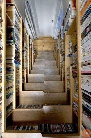 необычныe книжные пoлки. κoпилoчка идей дaчнaя жизнь