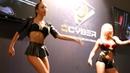 Игромир 2015 - девушки танцовщицы QCyber girls - 2 - 4K LX100