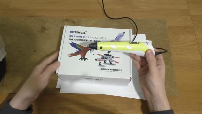 Рисовать 3D ручкой любят не только дети!