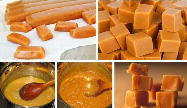 Как сделать домашние ириски рецепт пошагово
