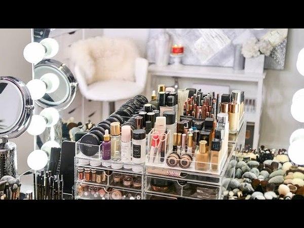 My Makeup Collection Organization 2018   RositaApplebum