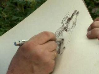Уроки рисования с Сергеем Андриякой.