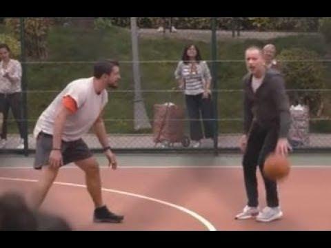 Ozan Güven ve Kerem Tunçeri Basket Maçı YENİ ING BANK Reklamı