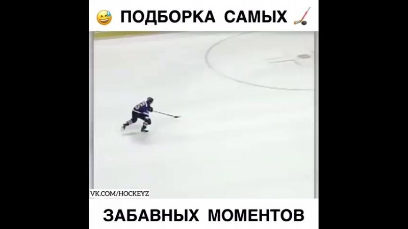 самые курьезные моменты из мира хоккея
