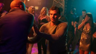 Fifty Shades Freed / Fight Scene (Christian Punches Guy In Club)