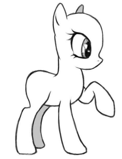 картинки для срисовки малитал пони