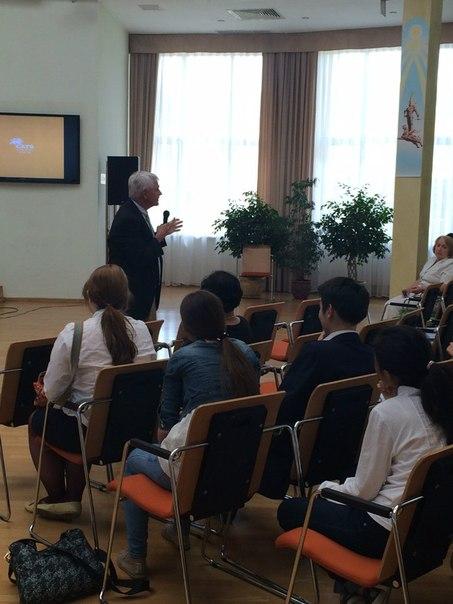Презентация в Бобеке - Обучение в США