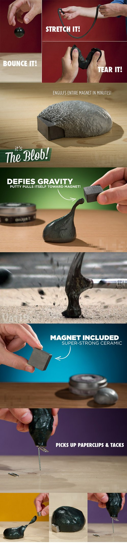 Магнитный пластилин -