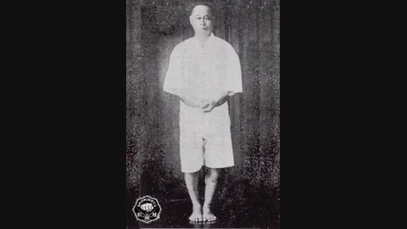 Naihanchi Shodan kata by master Choki Motobu