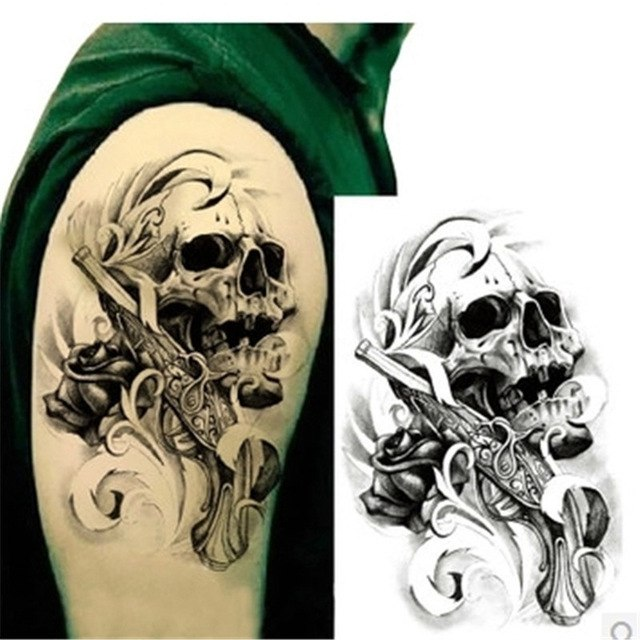 Временная татуировка 086