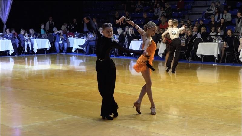 Kipras Kura - Aleksandra Chizhik LTU, Cha-Cha-Cha | Tallinn Open 2018