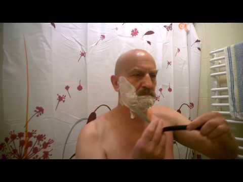 Опасная бритва Заря, отличное бритьё