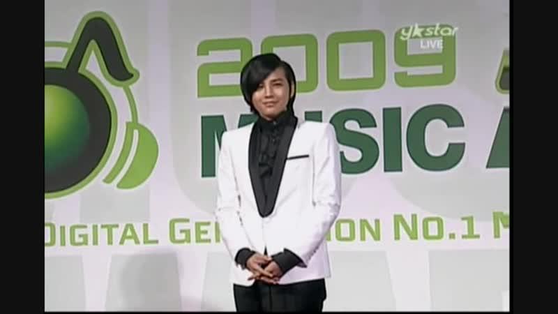 2009 Melon.Music Award.Jang Geun suk Red carpet Performance