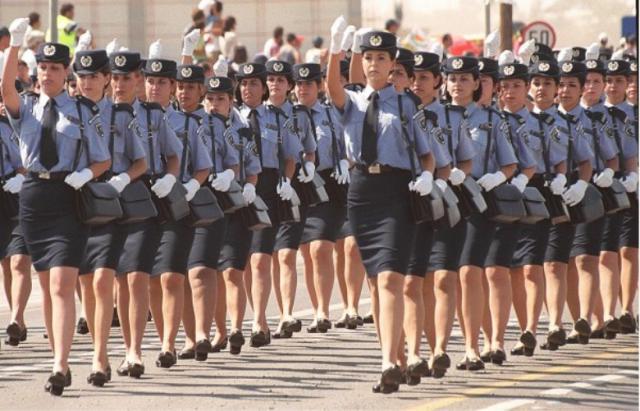 Девушки военнослужащие в армиях мира. Фото