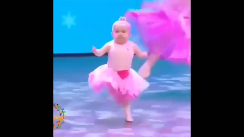 Танец маленькой балерины.