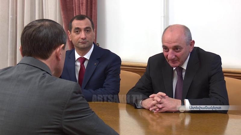 Նախագահ Բակո Սահակյանն ընդունել է ՀՀ ոստի13