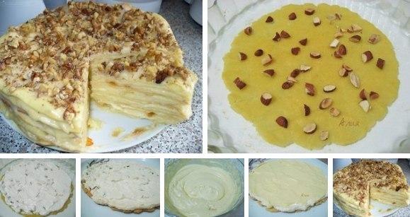 Рецепт торта из желтков фото