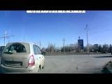 ДТП на кольце въехал в бок машины Волжский