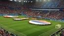 Стадион поёт гимн России Матч Россия Египет 19 06 2018