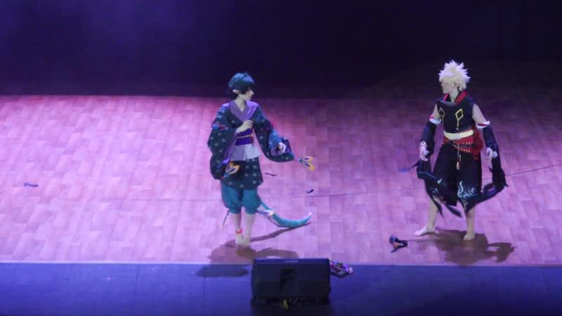 2.3.DGO 213. Seno Kanzaki, ZuZa (LZS Show) - Boku no Hero Academia Yokai - Izuku Midoriya, Katsuki Bakugou