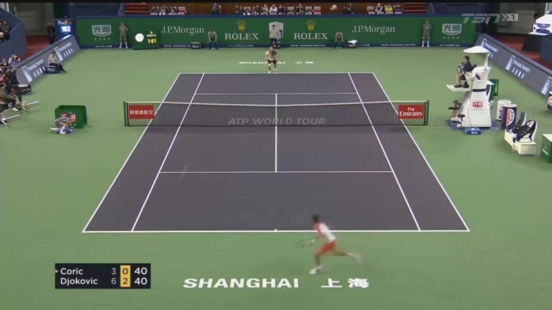 Djokovic vs. Coric - Shanghai 2018 FINAL Highlights