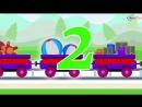 Паровозик Чух-Чух. Развивающий мультфильм для детей. Мультфильм про паровозы.