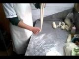 Лапша ручной работы в Китае. Синдзянская кухня.