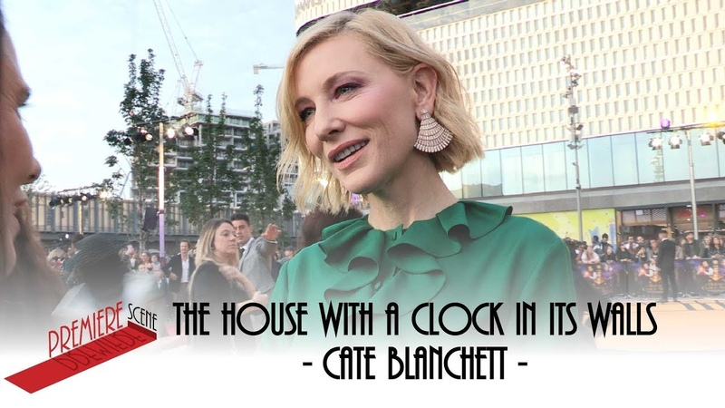 The House with a Clock in Its Walls – World Premiere Interview - Cate Blanchett