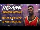 Insane Building Battles Ninja Lupo vs TSM Myth Hamlinz Fortnite Tournament Game 2