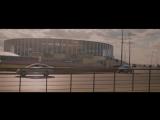 Футбольный стадион международного класса. Кафедральный собор Александра Невского в Нижнем Новгороде.