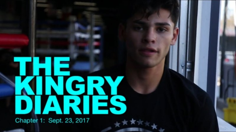 A DAY WITH BOXER RYAN GARCIA ; THE KINGRY DIARIES, CHAPTER 1