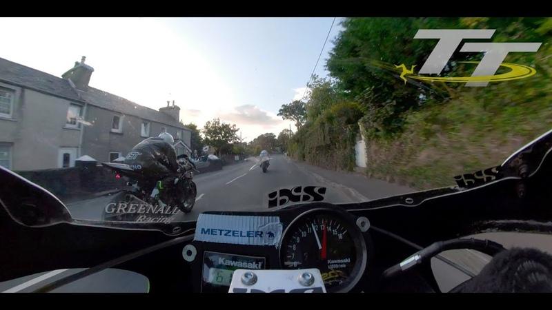 360 Degree On Board   Classic TT 2018   Horst Saiger   Kawasaki Superbike