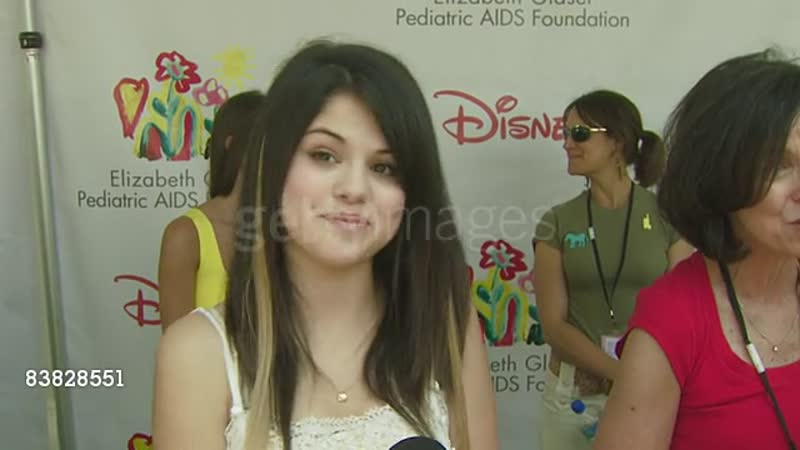 Selena Gomez on the event, the booth shes working today at the A Time for Heroes Carnival @ The Wadsworth Theatre at Los Angele