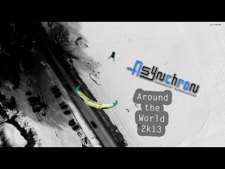 Around The World 2k13 - Asynchron Aerobatic Paragliding