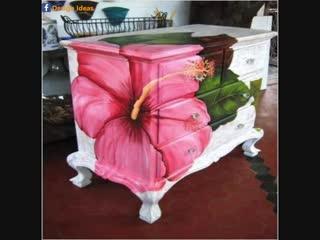 Даём новую жизнь старой мебели