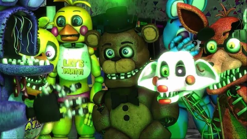 SFM FNAF Series: Old Memories: Season 2 | Five Nights at Freddy's Movie