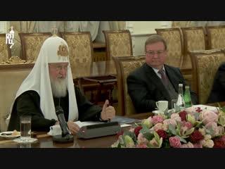 Патриарх Кирилл о беспрецедентном вмешательстве государства в дела Церкви на Украине