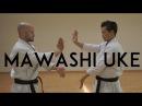 MAWASHI UKE karate circular block TEAM KI