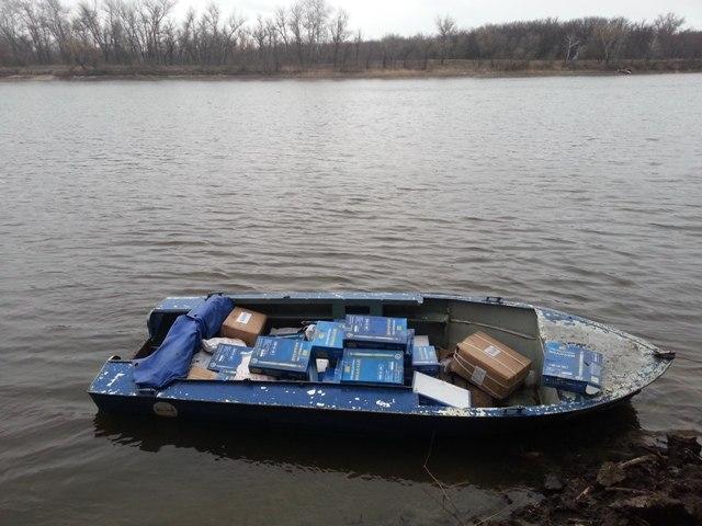 На границе в Ростовской области задержали лодку с «контрабандой» из Украины