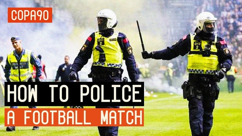 How to police a football match AIK Hammarby Copa90
