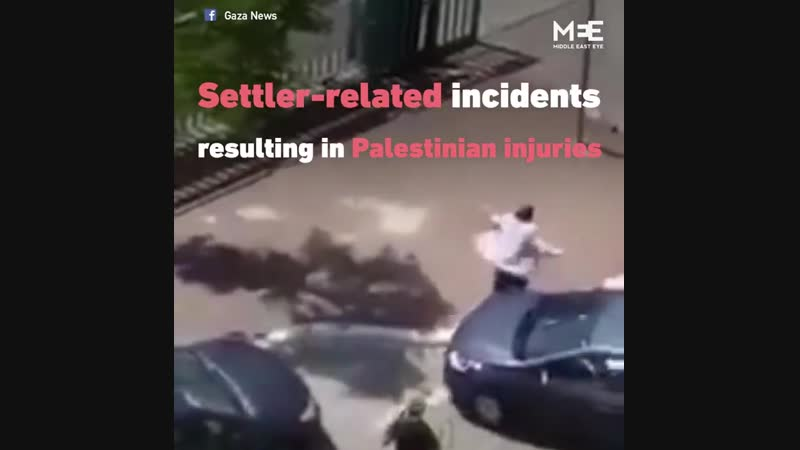 Middle East Eye January 17 - Israeli settler attacks against Palestinians in the occupied West Bank 'tripled' in 2018