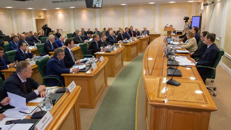 Выступление В Матвиенко на ежегодном совещании Председателя СФ со статс секретарями