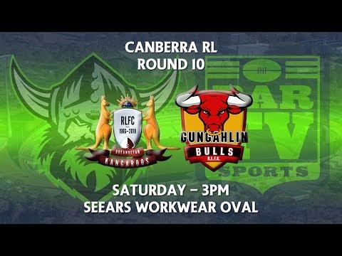 2018 Canberra RL 1st Grade Round 10 - Queanbeyan Kangaroos v Gungahlin Bulls