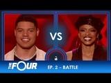 James vs Sharaya J A BRUTAL Rap Battle Between Two Gladiators! S2E2 The Four