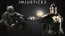 Injustice 2 - Бэтмен против Доктора Фэйта - Intros Clashes rus