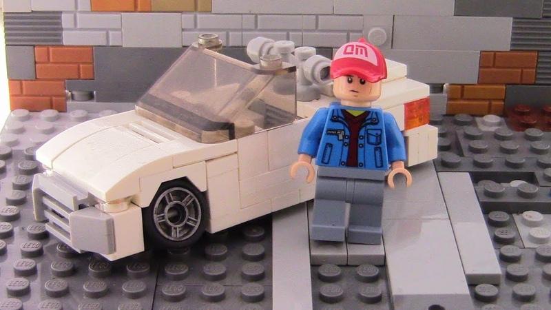 Mazda Miata из LEGO. Обзор на самоделку!