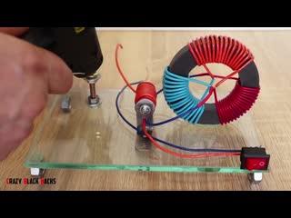 Магнитный генератор электроэнергии своими руками - Глаза боятся руки делают