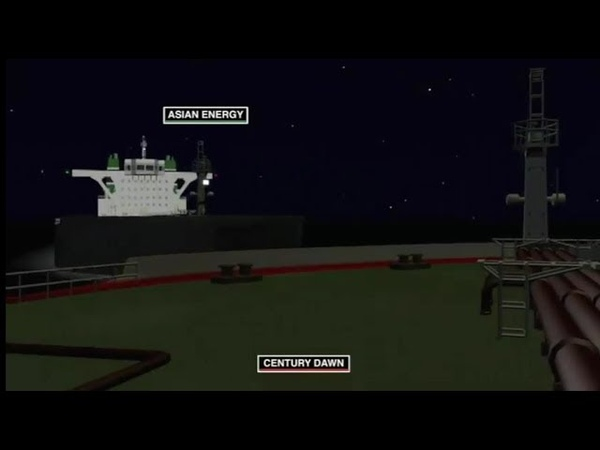 Two Tankers Collision in the Traffic Separation Scheme
