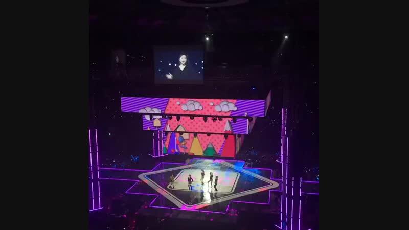 FANCAM 181012 IBK Enterprise Row Concert RedVelvet 레드벨벳 -