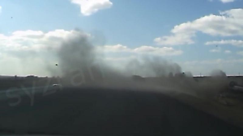 ДТП в районе Сызрани на трассе М-5 Урал.